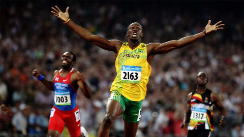 Beijing 2008 - Usain Bolt wins the 200m final and breaks the world record