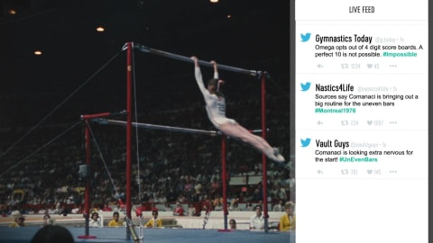 What if Nadia Comaneci's Perfect 10 happened today?
