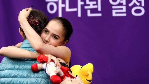 Zagitova wants to keep things sweet with Medvedeva