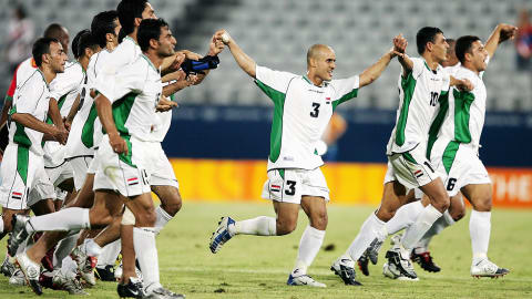 Iraq beats Portugal in Men's Football | Athens 2004