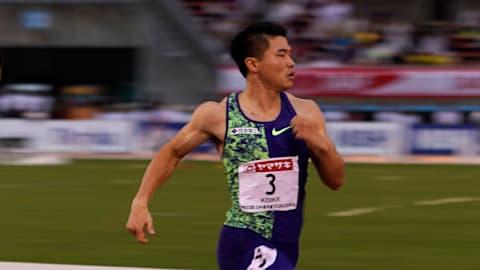 イタリア・パドヴァでの国際競技会、男子100Mで小池祐貴が10秒11をマーク