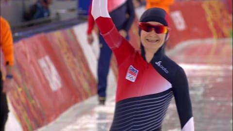 M. Sablikova (CZE), Gold Women's 5000m    Speed Skating - Sochi 2014 Replays