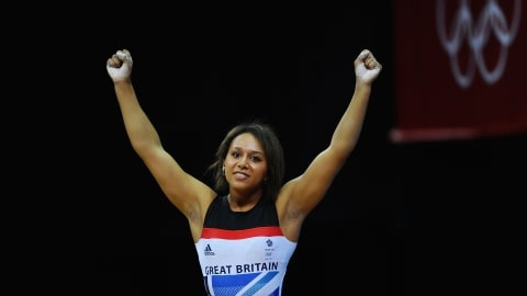 Behind the scenes with Team GB weightlifting