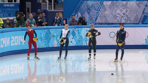 Finale 500 m donne | Short Track - Sochi 2014 Replay