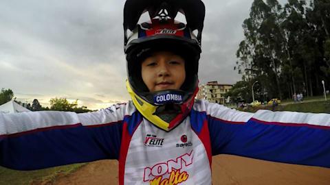 8-year-old world champion following Mariana Pajon to Olympic glory