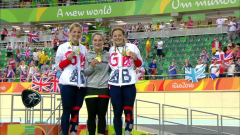 Vogel wins Women's Sprint gold