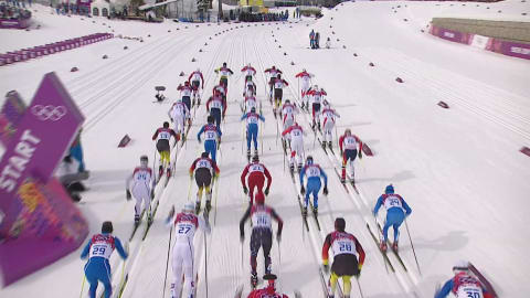 Best of Men's Cross Country Skiathlon | Sochi 2014