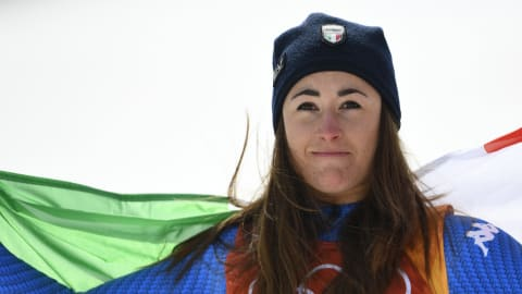 Sofia Goggia relives spiritual moment at PyeongChang