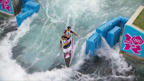 Peter and Pavol Hochschorners,canoe slalom C2 Bronze Medal| London 2012