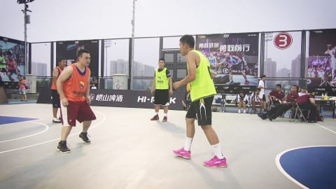 Beyond streetball: 3x3 enters Nanjing 2014 Youth Olympic Games