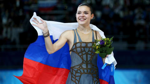 Russian figure skater Sotnikova shocks world with gold medal win