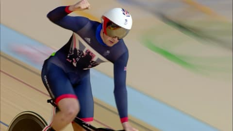 Kenny breaks Olympic Men's Sprint Cycling record