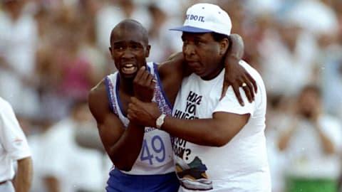 Derek Redmond's inspirational race | Barcelona 1992