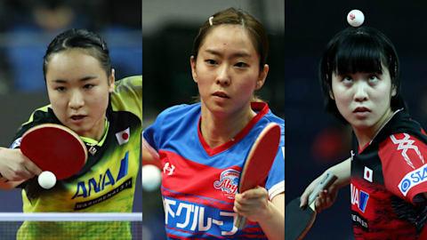 卓球王国の中国は女子団体でも実力屈指。実力者がそろう日本勢も十分にチャンスあり