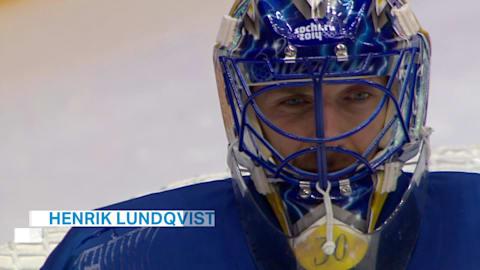 Keeper Lundqvist helps Sweden to ice hockey silver in Sochi