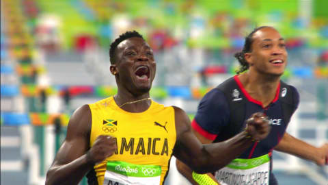 Strides towards history for Omar Mcleod