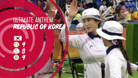 National anthem: The best of Republic of Korea in Rio