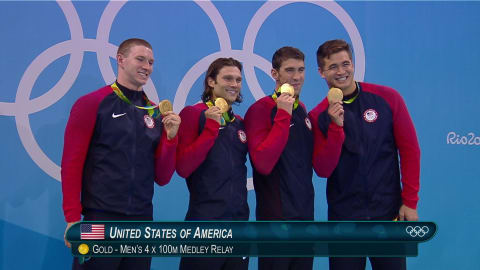 Replay do Rio: Final do Revezamento 4x100m Medley Masculino