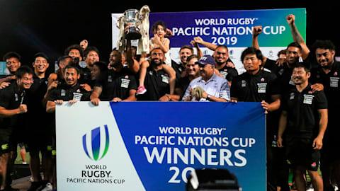 ラグビーPNC:日本が8年ぶりに優勝…9月W杯日本大会に弾み