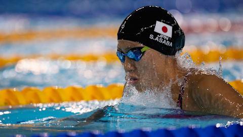 競泳女子、ユース金メダルで東京五輪への夢ふくらむ