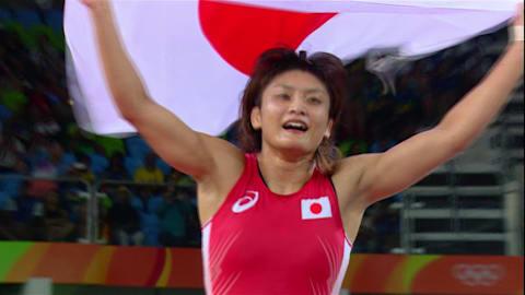 Icho wins fourth gold in Women's Wrestling