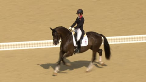 Equestrian dressage: London Medley | Music Mondays