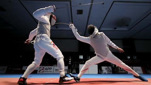 フェンシング:独自のスタイルで戦う有望株・敷根崇裕は、2017年の世界選手権で銅メダルを獲得