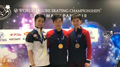 男子シングルを制したのはネイサン・チェン、羽生結弦は銀メダル...宇野4位で惜しくも表彰台ならず、田中14位