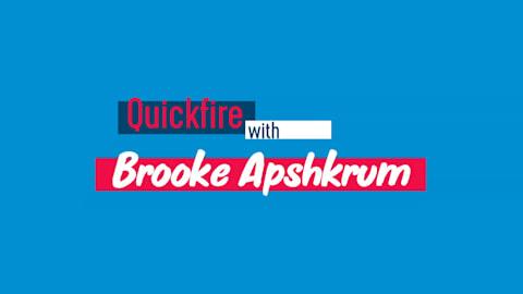 Quickfire : Des rires, des chiens et de la bonne nourriture pour Apshkrum