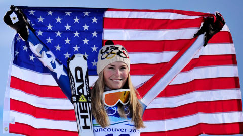Quickfire: Most crashes are good - they happen when you ski fast - Vonn