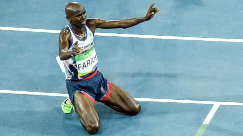 Mo Farah: My Rio-Highlights