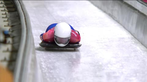 Manche 1 - Skeleton Femmes | Replay de PyeongChang