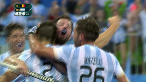 Argentinien holt Gold im Hockey