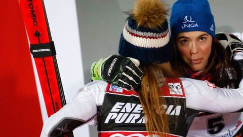 Why Shiffrin and new World Champ Vlhova are the best of rivals