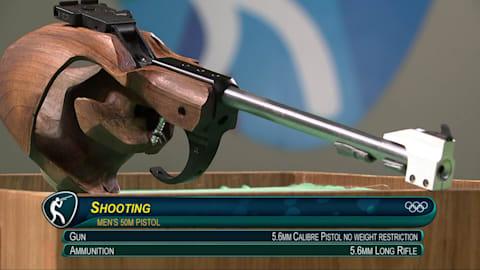 Tiro: Pistola 50m masculino, clasificación y final | Reviviendo Río 2016
