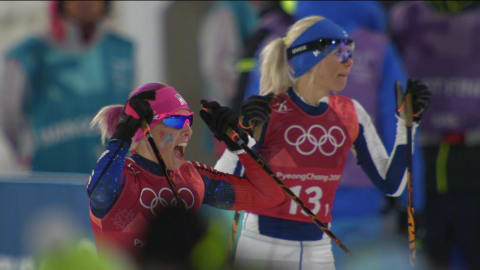 Sprint por equipo (F) - Esquí de Fondo | Resumen de PyeongChang 2018