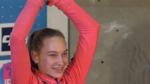 can anyone stop sport climbing star Janja Garnbret?