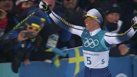 Скиатлон, 15 км, женщины - лыжные гонки | Лучшее в Пхенчхане-2018