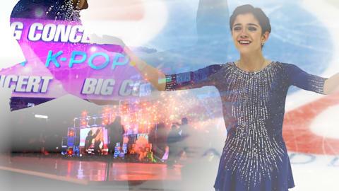 Será que a rainha  da dança no gelo Medvedeva tem chances no pop coreano?
