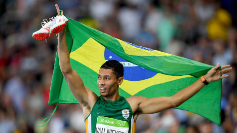 Wayde Van Niekerk: My Rio Highlights