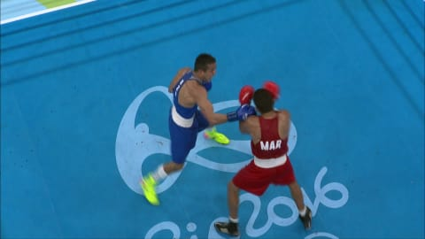 Rabil and Cissokho each awarded bronze in Men's Boxing -69kg