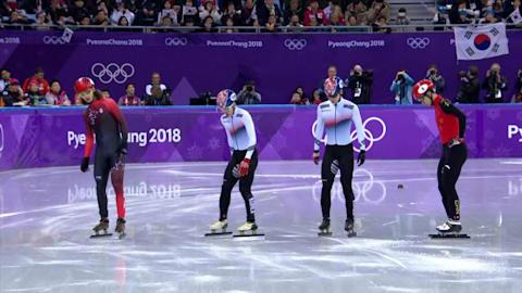 500 м, финалы, мужчины - шорт-трек | Пхенчхан-2018