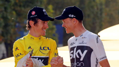 Geraint Thomas and Chris Froome to miss Road World Championships