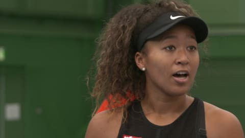 Exclusive: Naomi Osaka aiming to win gold for Japan at Tokyo 2020