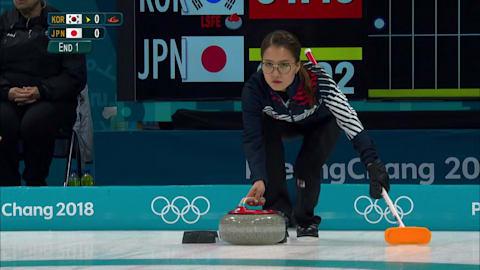 KOR v JPN (Demi-Finale) - Curling (F) | Replay de PyeongChang