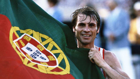 Portugal's Lopes wins marathon | Los Angeles 1984