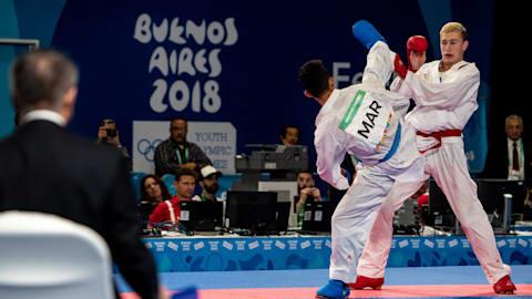 Men's Kumite -68kg Final - Karate | Buenos Aires 2018 YOG