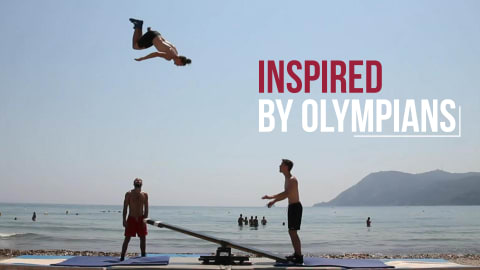 Beach Sports Compilation I Inspired by Olympians