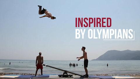 Strandsport Zusammenstellung I Inspired by Olympians
