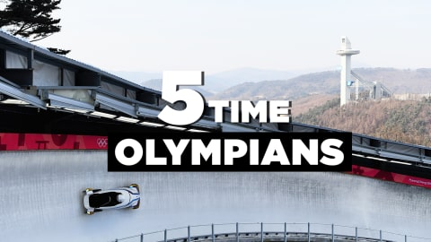Five-Time Olympians